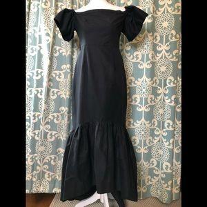Jill Stuart Black Evening Gown